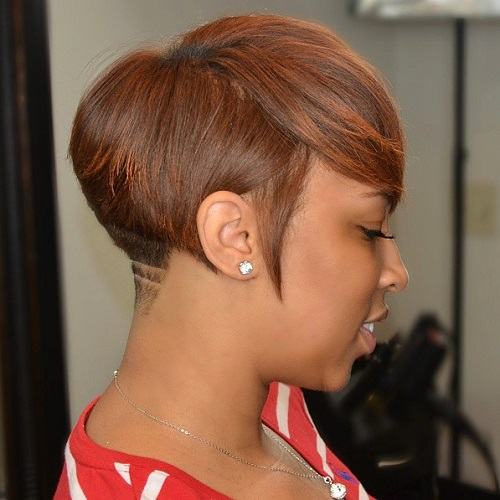 Short Black Haircuts Women 38