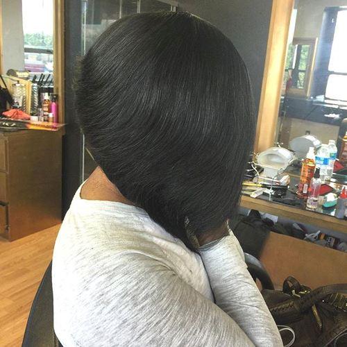 black bob haircut