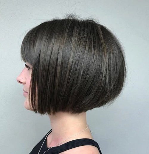 Short Bob With Bangs For Thin Hair
