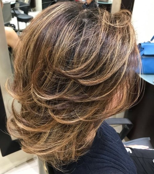 Medium Tousled Style With Layers
