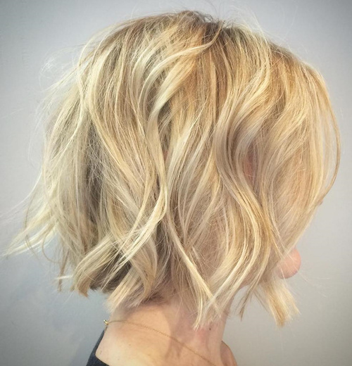 Cool 50 Most Delightful Short Wavy Hairstyles Hairstyles For Women Draintrainus