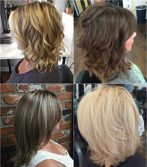 80 sensational medium length haircuts for thick hair in 2017 layered medium length haircut for thick hair urmus Choice Image