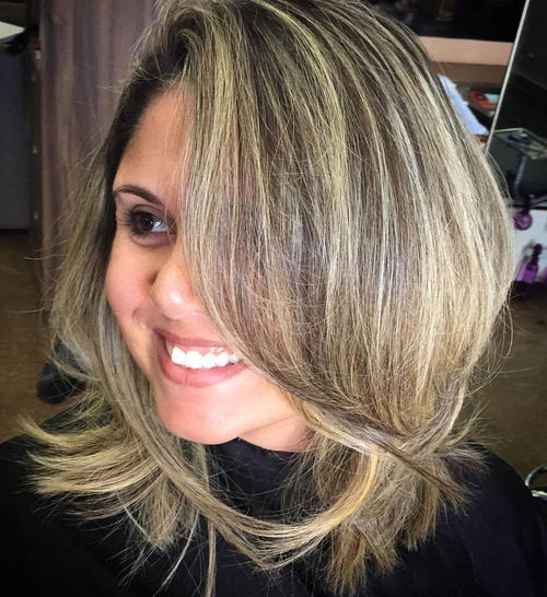 Tremendous 90 Sensational Medium Length Haircuts For Thick Hair In 2017 Short Hairstyles For Black Women Fulllsitofus