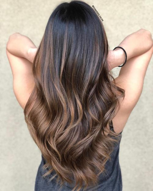 Light Brown Balayage