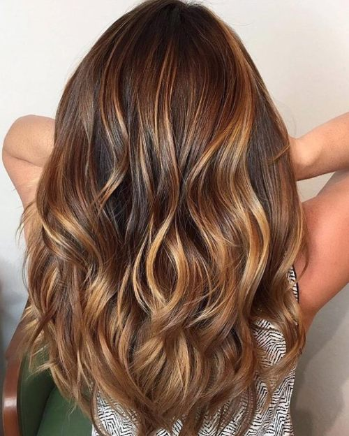 Long Wavy Layered Cut