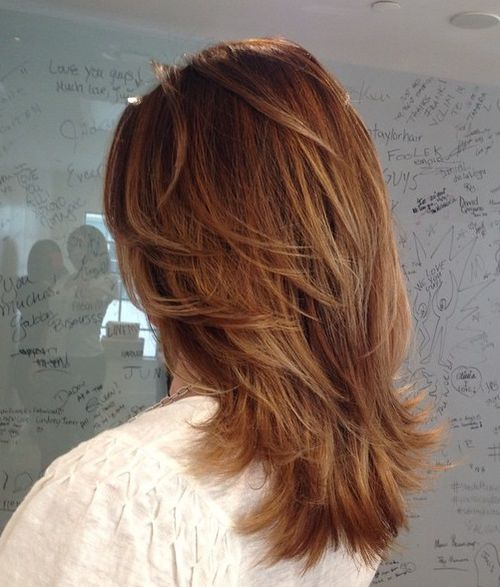 14 Brightest Medium Length Layered Haircuts and Hairstyles
