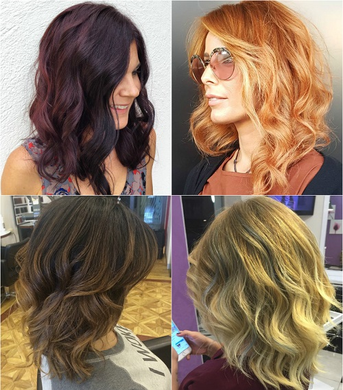 Tremendous 90 Sensational Medium Length Haircuts For Thick Hair In 2017 Short Hairstyles Gunalazisus