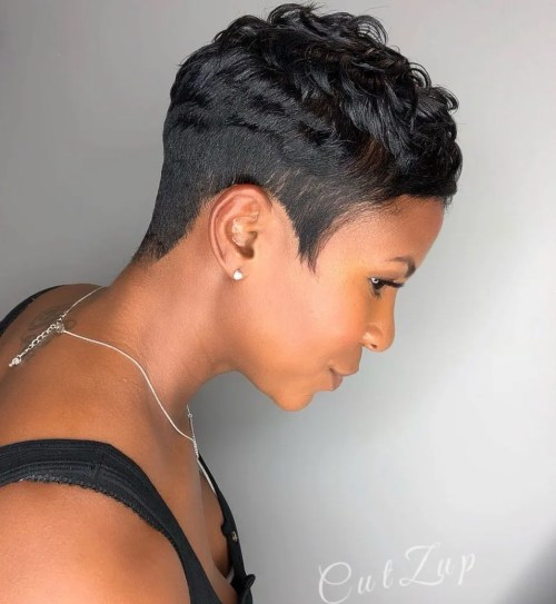 Short Undercut With Textured Top
