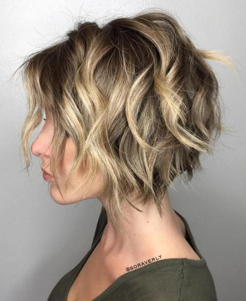 Wavy Hairstyles Short Hair 13