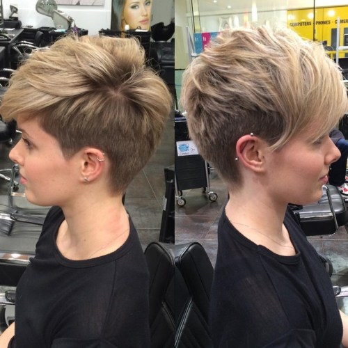 100 mind blowing short hairstyles for fine hair undercut pixie for thin hair urmus Images