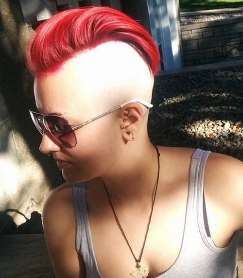 35 Short Punk Hairstyles To Rock Your Fantasy
