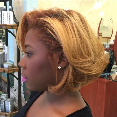 Blonde Bob For Black Women