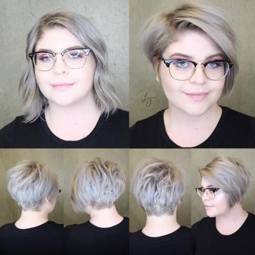Edgy Pixie Bob For A Full Face