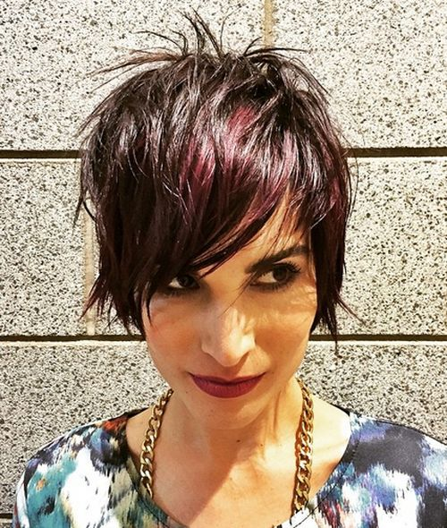 short punk hairstyles rock