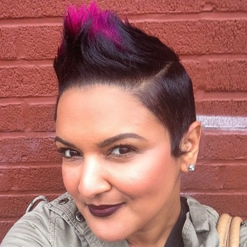 Extra Short Funky Mohawk For Women