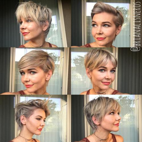 Slimming Pixie Hairstyles