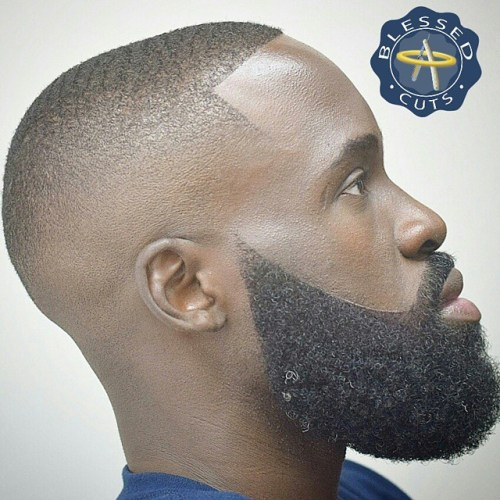 Extra Short Skin Fade With Beard