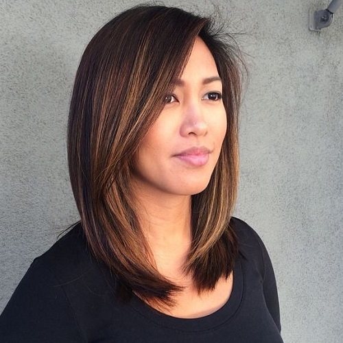 Admirable 60 Hairstyles Featuring Dark Brown Hair With Highlights Short Hairstyles For Black Women Fulllsitofus