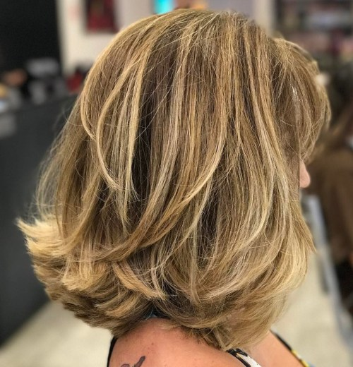 80 Sensational Medium Length Haircuts for Thick Hair in 2018