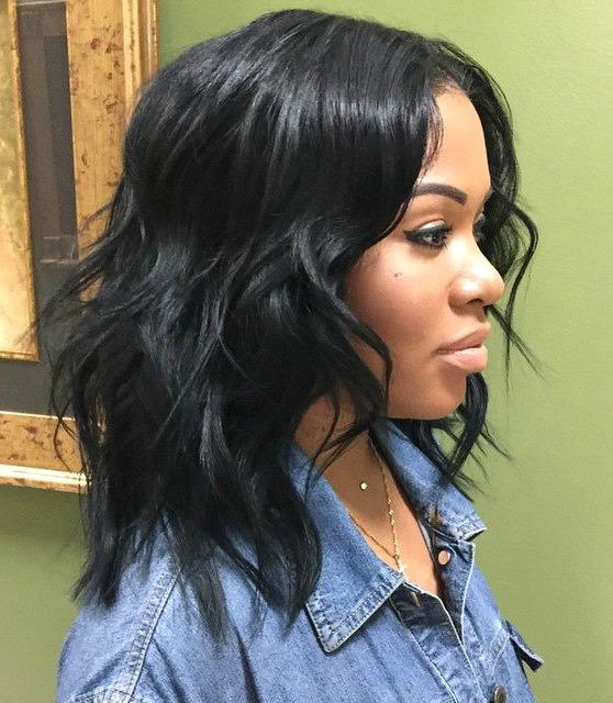 Astonishing 50 Best Eye Catching Long Hairstyles For Black Women Hairstyles For Women Draintrainus