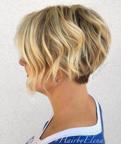 Magnificent 50 Most Delightful Short Wavy Hairstyles Short Hairstyles Gunalazisus