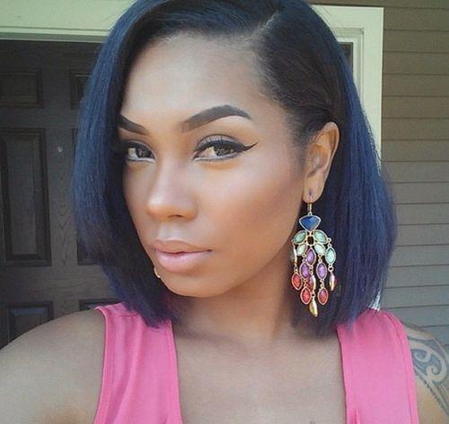 Pleasant 60 Showiest Bob Haircuts For Black Women Hairstyles For Women Draintrainus