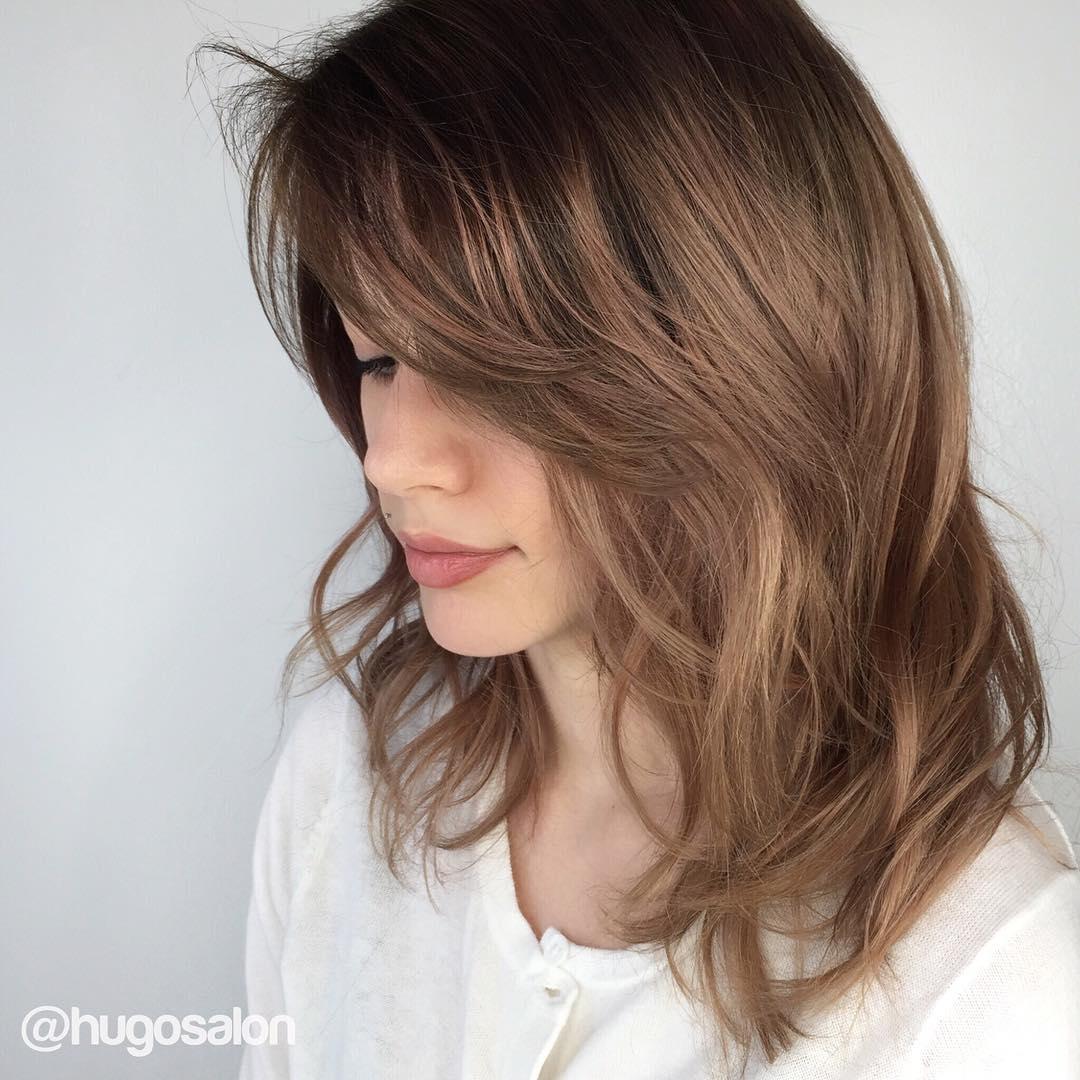 Amazing 70 Brightest Medium Length Layered Haircuts And Hairstyles Short Hairstyles Gunalazisus