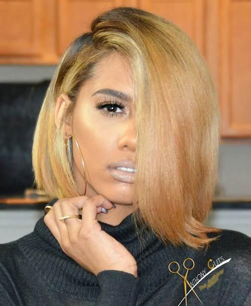 Terrific 60 Showiest Bob Haircuts For Black Women Short Hairstyles Gunalazisus