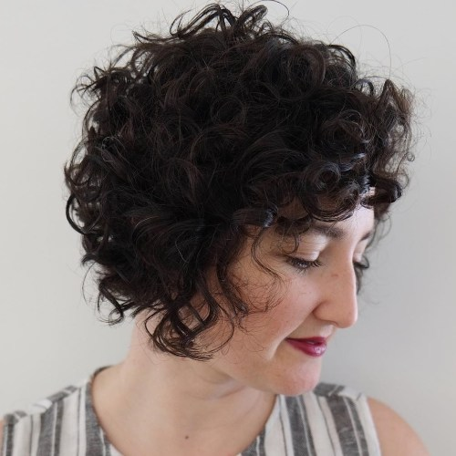 Natural Curly Pixie Bob