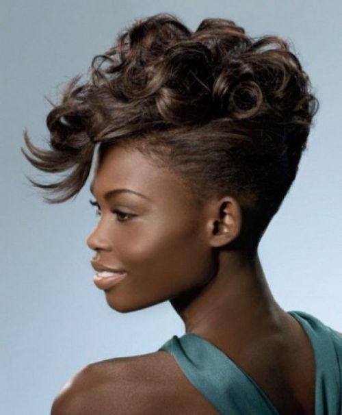 Terrific 60 Most Gorgeous Mohawk Hairstyles Of Nowadays Short Hairstyles For Black Women Fulllsitofus