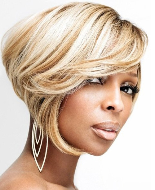 short bob for black women