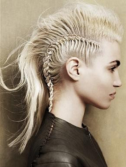 Cool 70 Most Gorgeous Mohawk Hairstyles Of Nowadays Hairstyle Inspiration Daily Dogsangcom