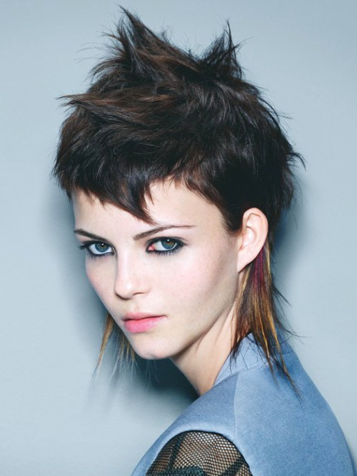 Hairstyle Pic 15 Short Punk Hairstyles To Rock Your Fantasy