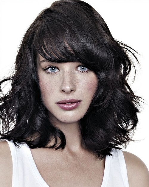 80 sensational medium length haircuts for thick hair in 2017 medium length thick hair urmus Choice Image