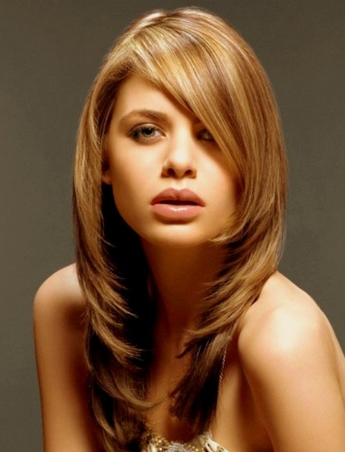 70 brightest medium length layered haircuts and hairstyles medium haircut with layers urmus Images