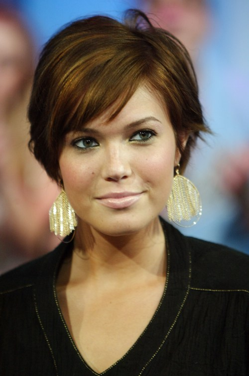 Fine 15 Sassy Hairstyles Featuring Mandy Moore Short Hair Hairstyles For Women Draintrainus
