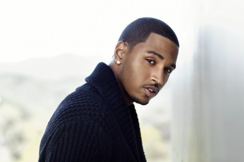 Trey Songz black haircut for men