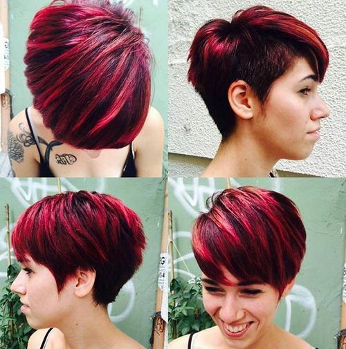 60 short choppy hairstyles for any taste choppy bob choppy short choppy haircut with side undercut urmus Choice Image