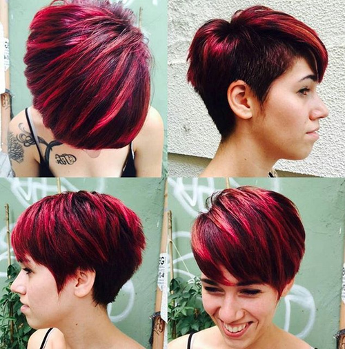 Tremendous 60 Short Choppy Hairstyles For Any Taste Choppy Bob Choppy Short Hairstyles Gunalazisus