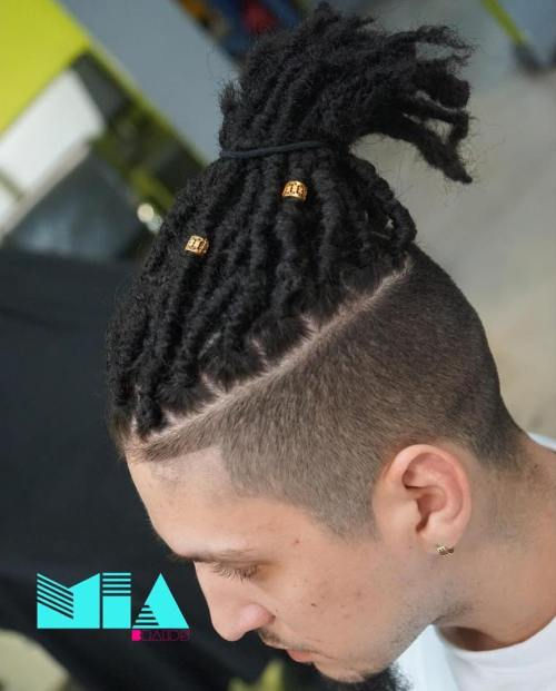 Dreadlocks With Undercut