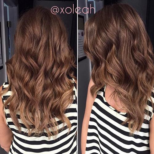 light chocolate ombre hair
