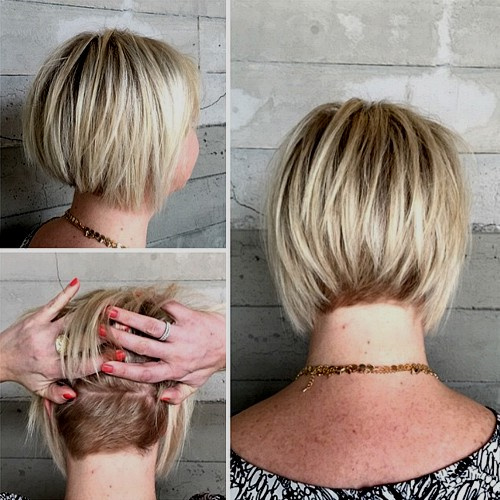 60 Short Choppy Hairstyles For Any Taste Choppy Bob Layers Bangs