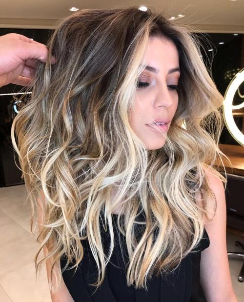 White Blonde Highlights For Bronde Hair