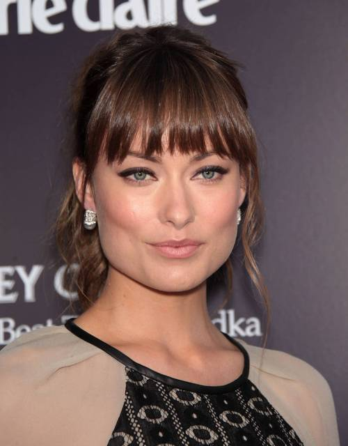 Olivia Wilde hairstyle for square face