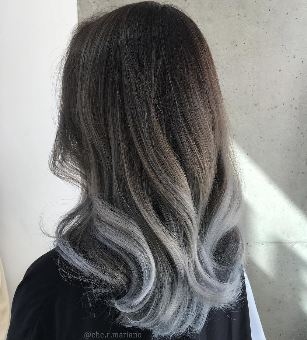 60 best ombre hair color ideas for blond brown red and black hair dye gray hair brown Tired of Coloring Gray Hair