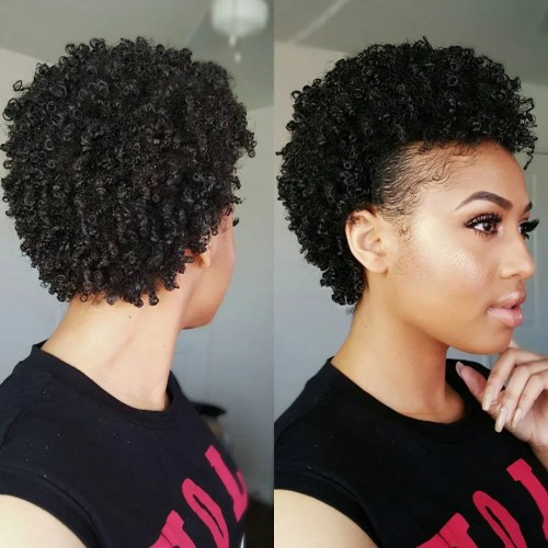 Cute Styles For Short Natural Black Hair
