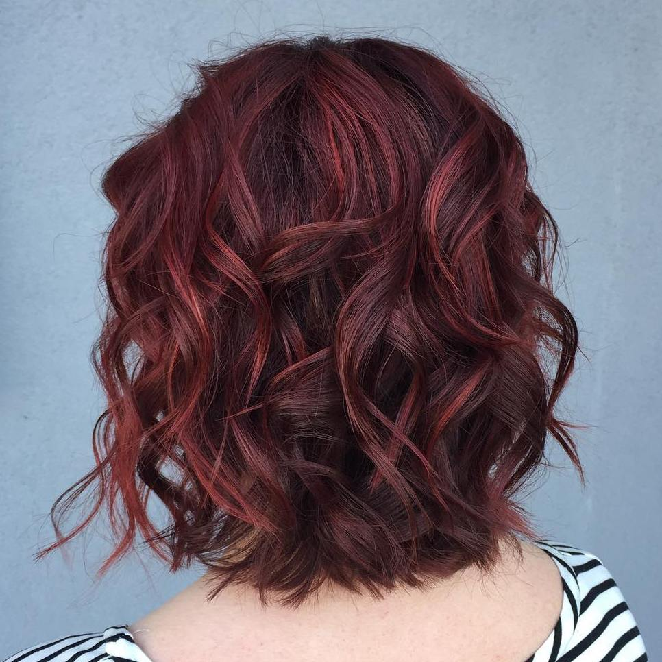 50 shades of burgundy hair dark burgundy maroon burgundy with wavy brown bob with burgundy highlights pmusecretfo Choice Image