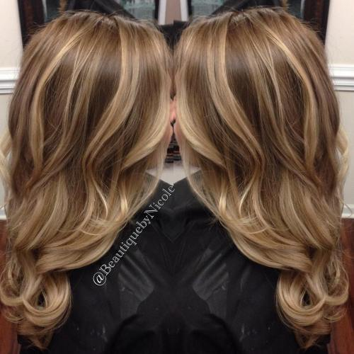 Subtly Highlighted Caramel Brown Hair