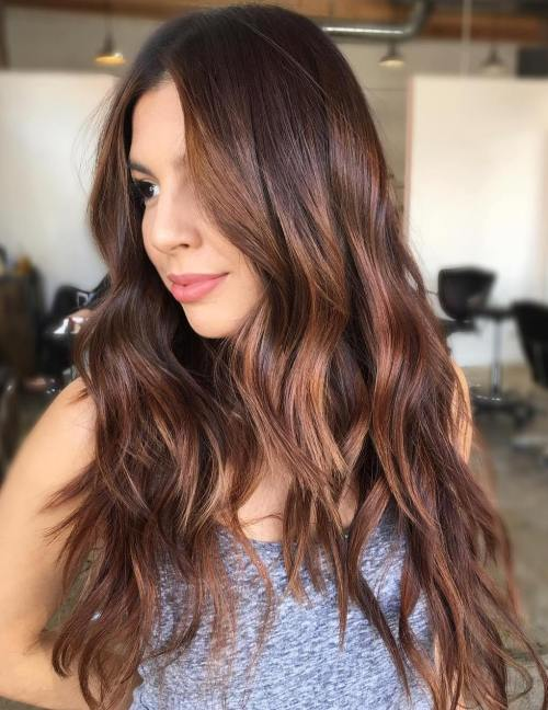 Long Hairstyle With Layers And Highlights