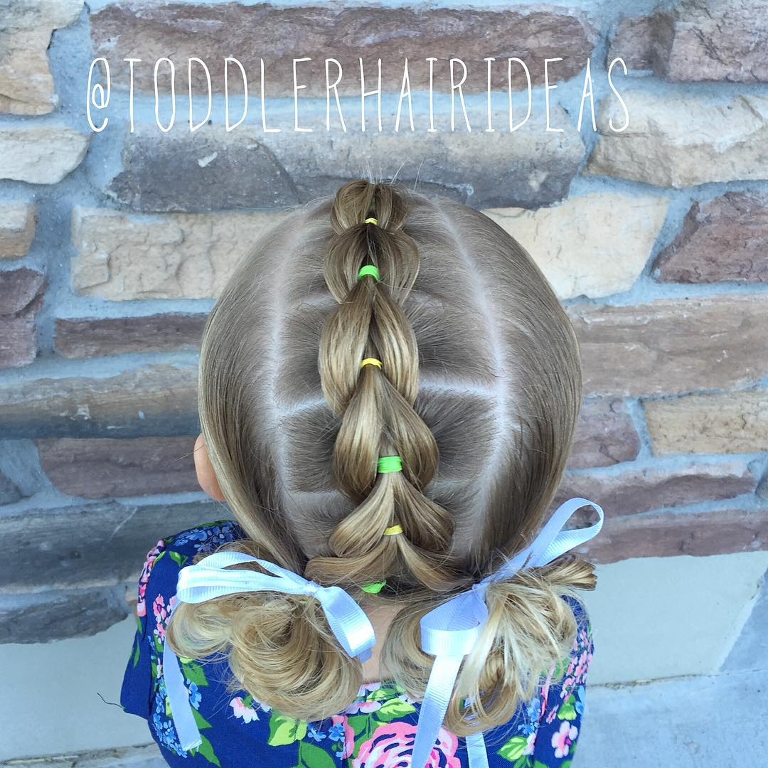 Toddlers Pull Through Braid
